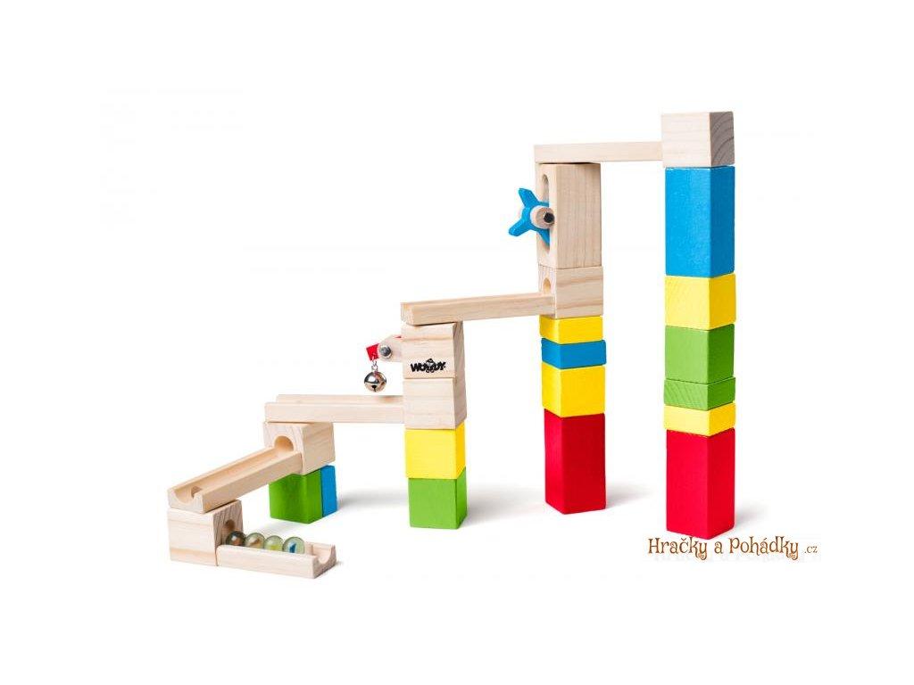 Stavebnice - kuličková dráha