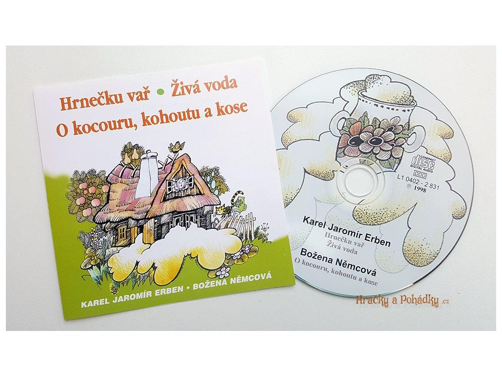 CD Hrnečku vař, Živá voda, O kocourku, kohoutku a kose