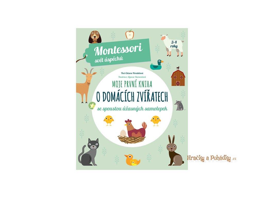 Moje první kniha o domácích zvířatech se spoustou úžasných samolepek