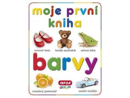 Moje první kniha - BARVY