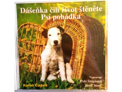 CD Pohádka K. Čapek- Dášenka čili život štěněte