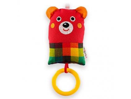 Medvídek červený - chrastítko