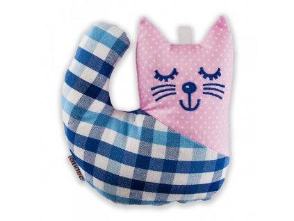 Látková hračka - kotě Péťa