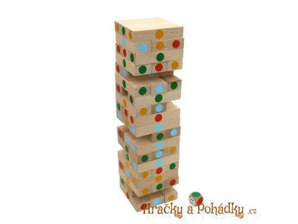Dřevěná hra - věž Jenga velká