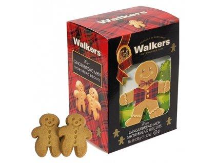 Zázvorové máslové perníčky Walkers