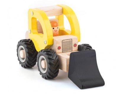 Dřevěné autíčko - BAGR