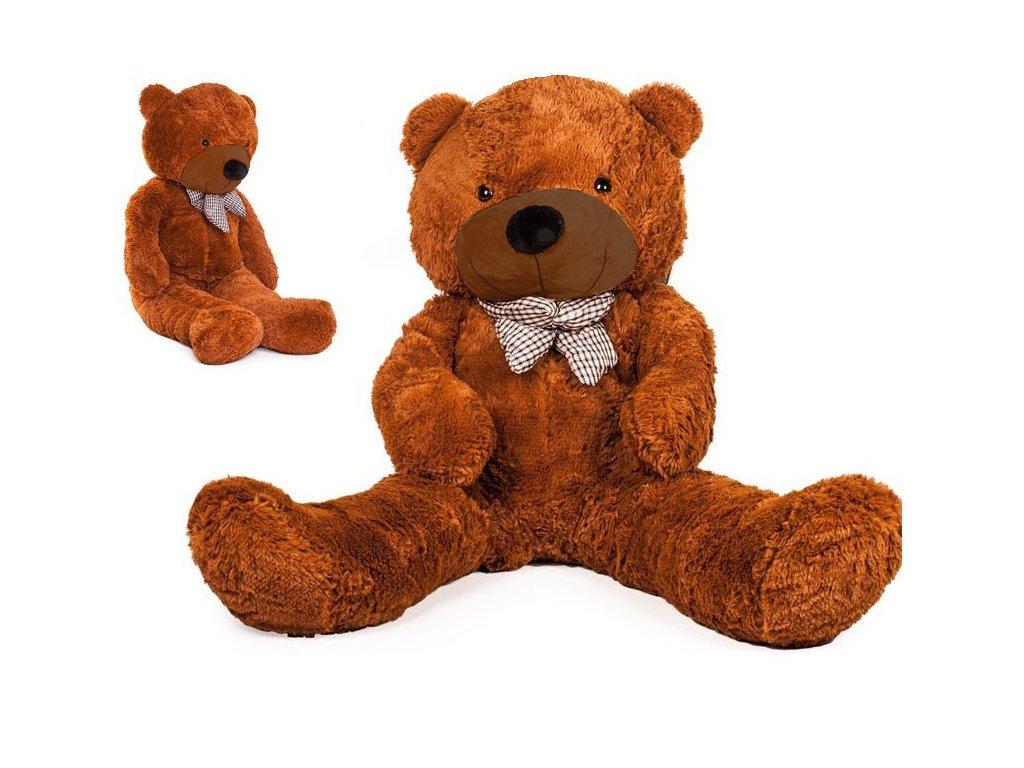 velký plyšový medvěd Doris 130 cm hnědý
