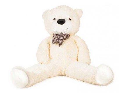 Doris Velký plyšový medvěd 130 cm bílý