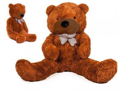 Velký plyšový medvěd 150 cm DORIS hnědý