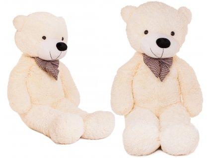 Velký plyšový medvěd 150 cm bílý