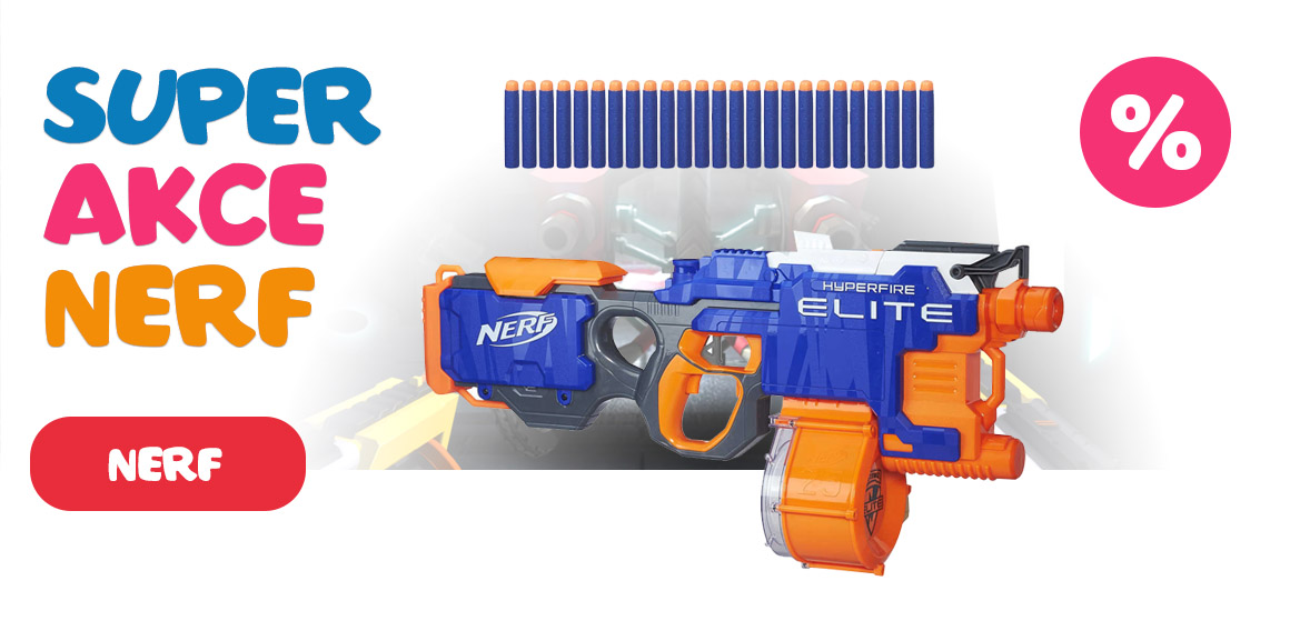 Super akce NERF