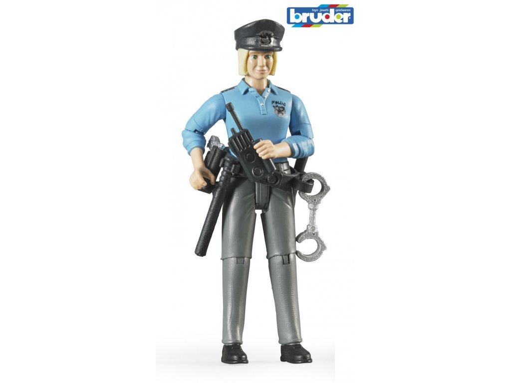 BRUDER 60430 Figurka Policistka