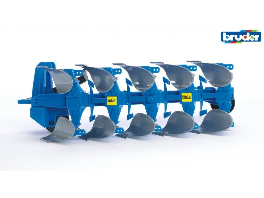 BRUDER 2331 Modrý pluh VARIANT