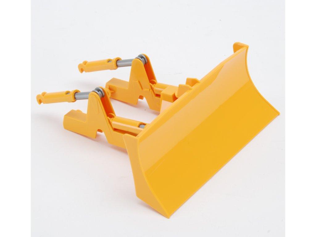 Náhradní díl pro Bruder 02443 - náhradní čelní radlice na CAT buldozer