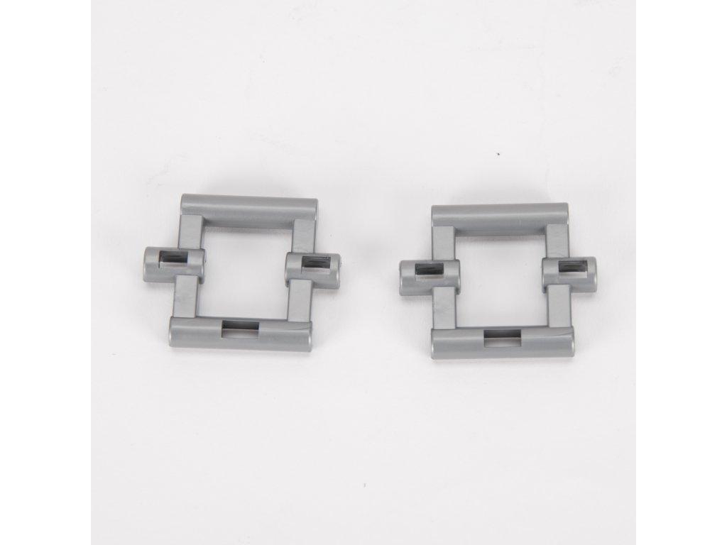 Náhradní díl na Bruder BR 03333 - stříbrný díl 2ks