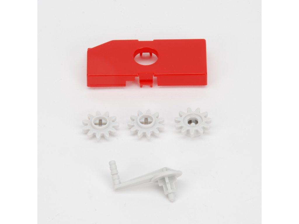 Náhradní díl pro Bruder BR 02214 - klika a drobné části pro Pöttinger Jumbo 6600