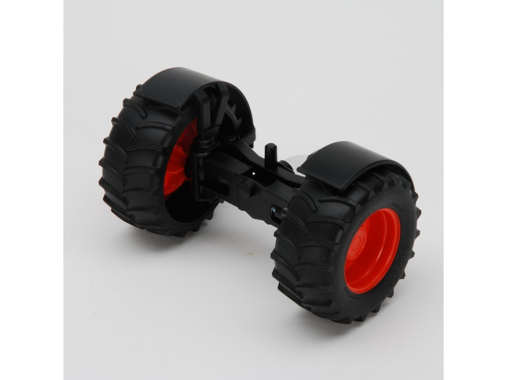 Náhradní díl pro Bruder BR 02110 - přední náprava pro traktor Claas Nectis 267F