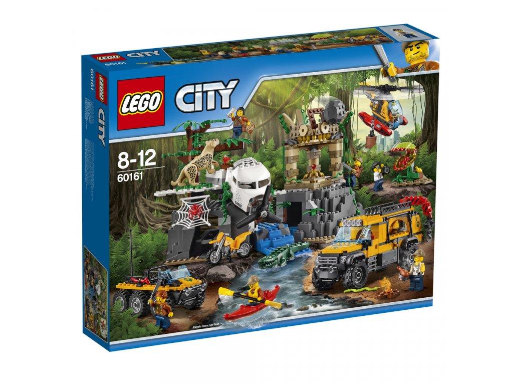 LEGO 60161 City Průzkum oblasti v džungli