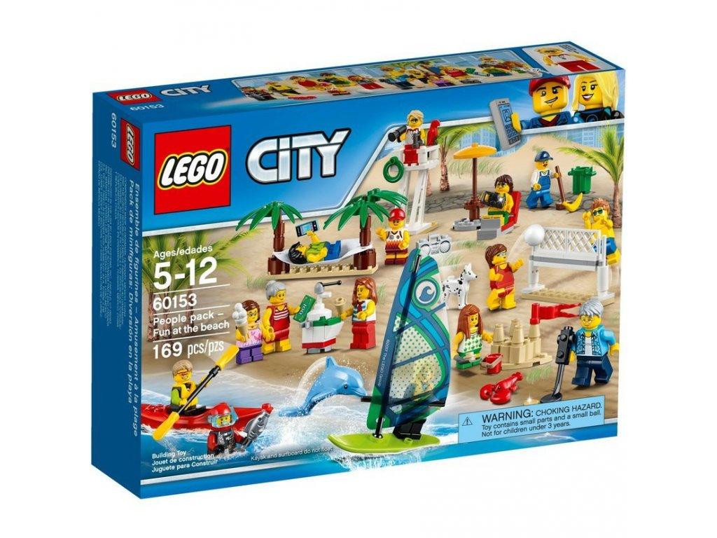 LEGO 60153 City sada postav - Zábava na pláži