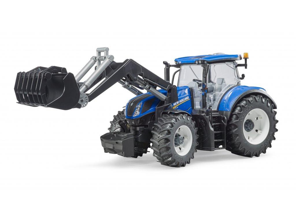 BRUDER 3121 Traktor New Holland T7.315 + čelní nakladač
