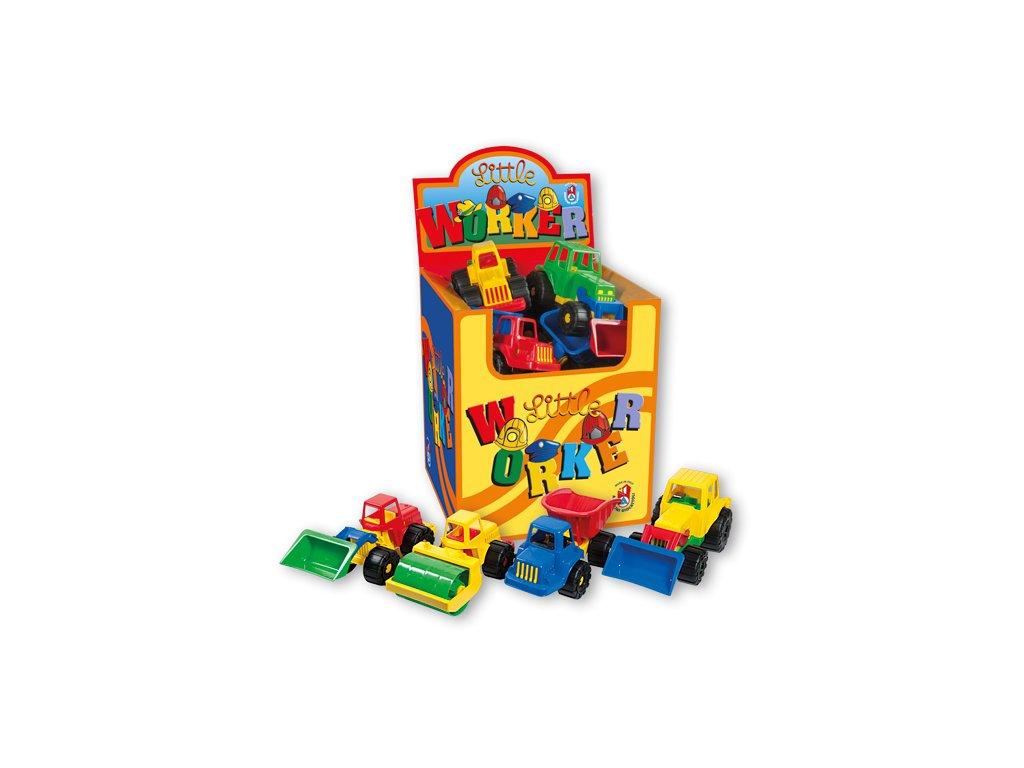 Androni-sada stavebních aut box 12ks
