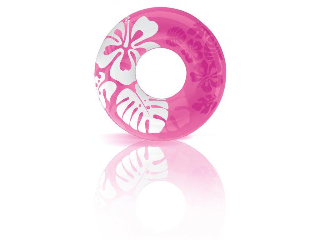 Intex kruh plovací květiny 91cm