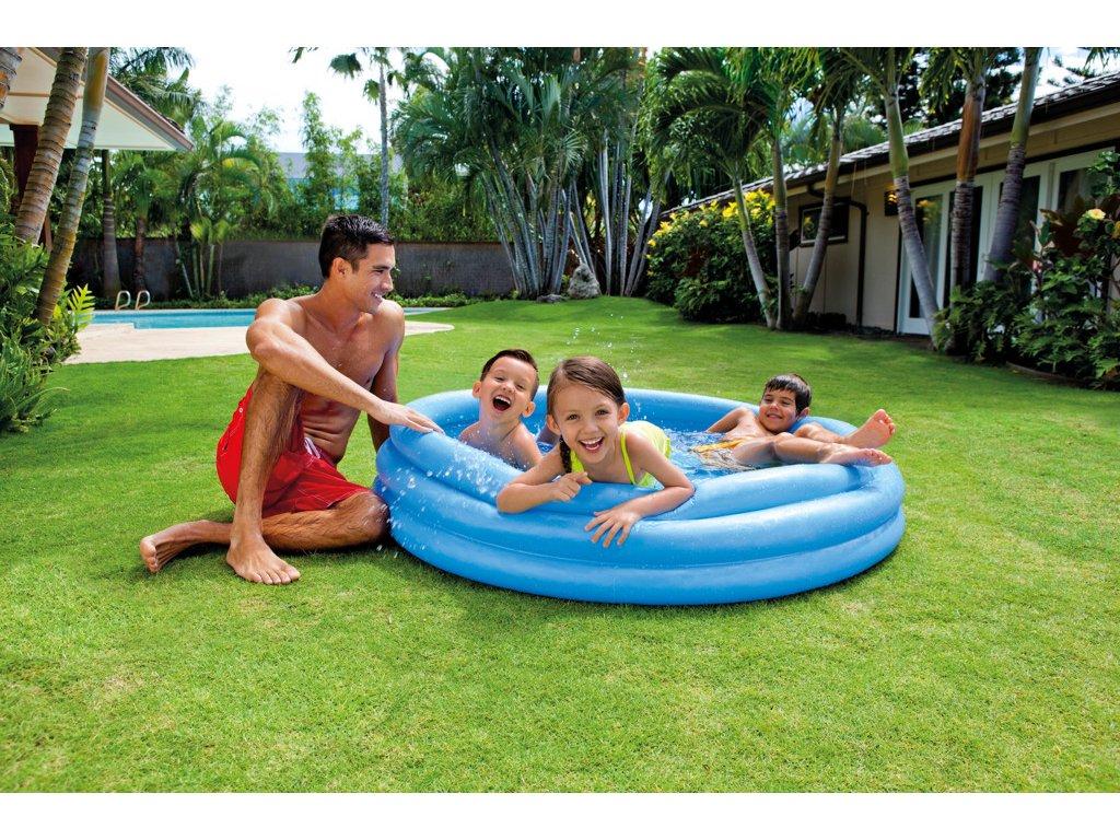 Intex bazen modrý 147x33cm