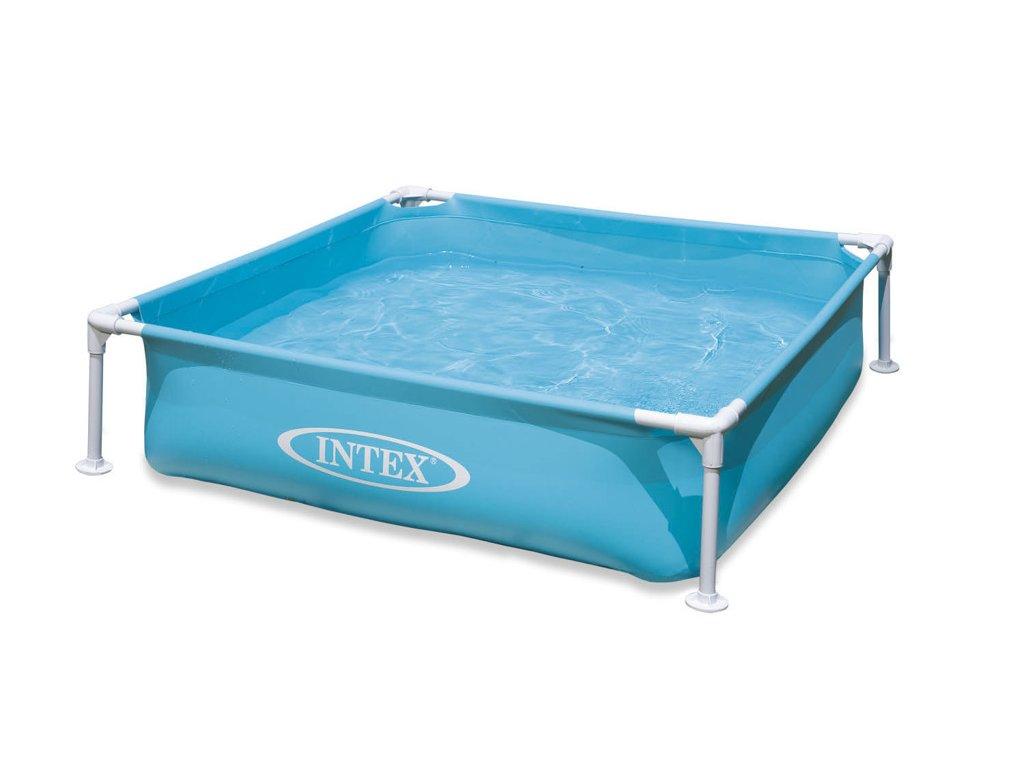 Intex bazének mini s rámem,modrý