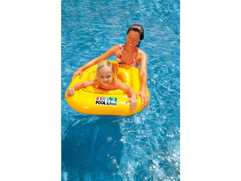 Intex sedátko dětské do vody DELUXE