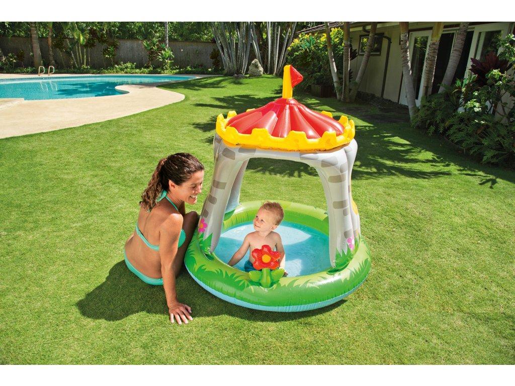 Intex bazének dětský Hrad