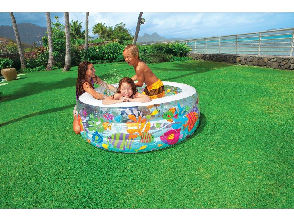 Intex Bazén akvárium 152x56cm