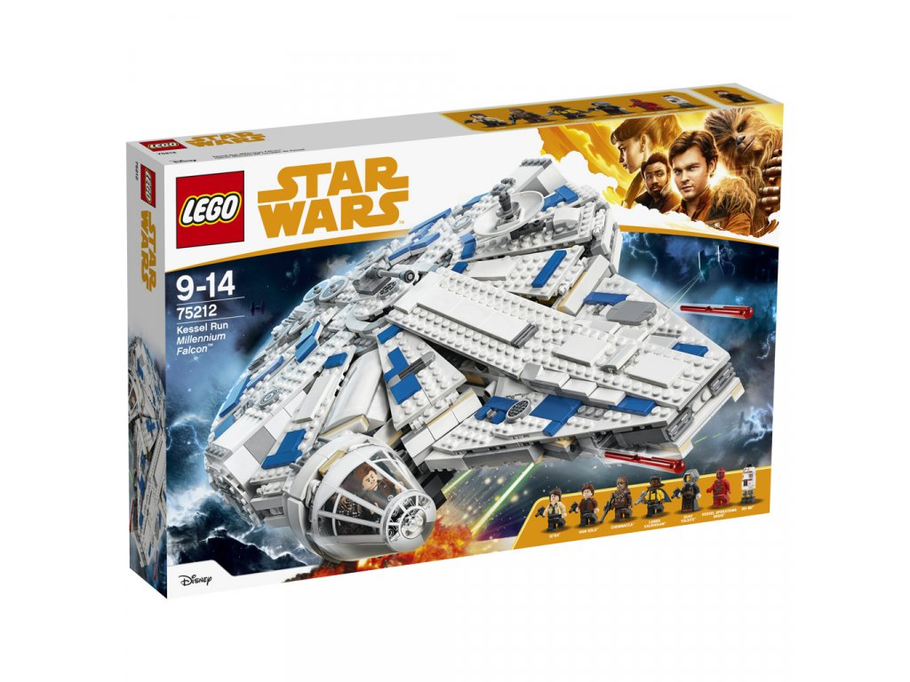 Lego 75212 Star Wars Kessel Run Milennium Falcon