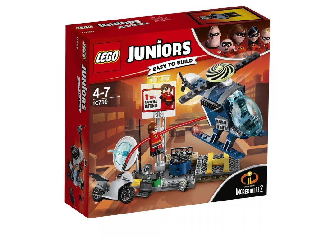 LEGO 10759 Juniors Elastižena: pronásledování na střeše