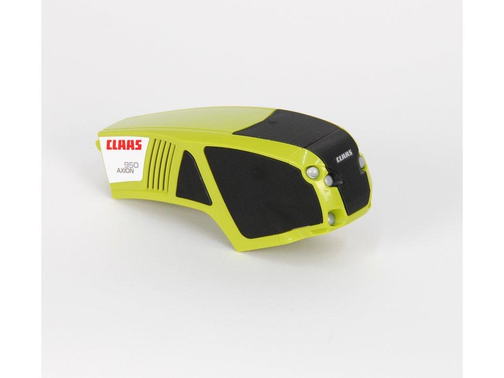 Náhradní díl pro Bruder BR 03012 - kapota pro traktor Claas Axion 950