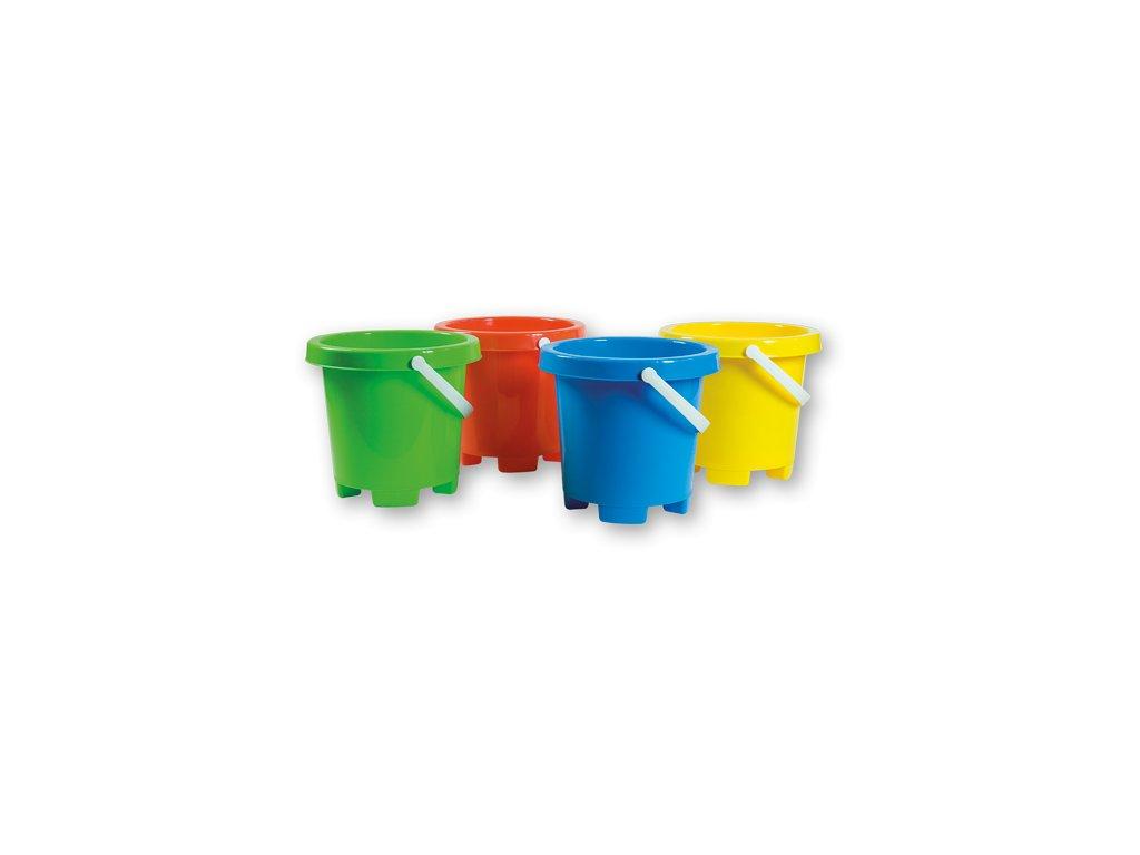 Androni-kyblíček barevný 19x18cm