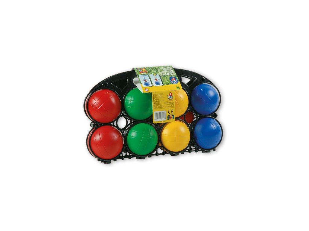 Androni - 8 barevných koulí 90mm + kulička