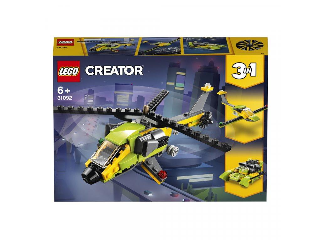 Lego 31092 Creator Dobrodružství s helikoptérou