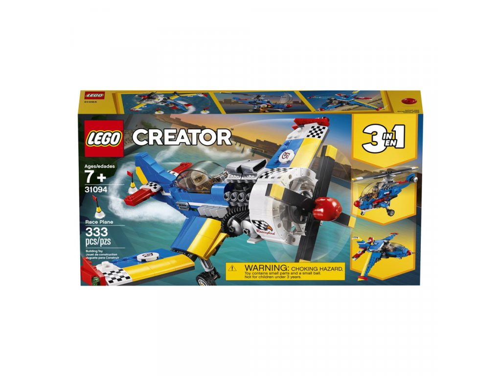 Lego 31094 Creator Závodní letadlo
