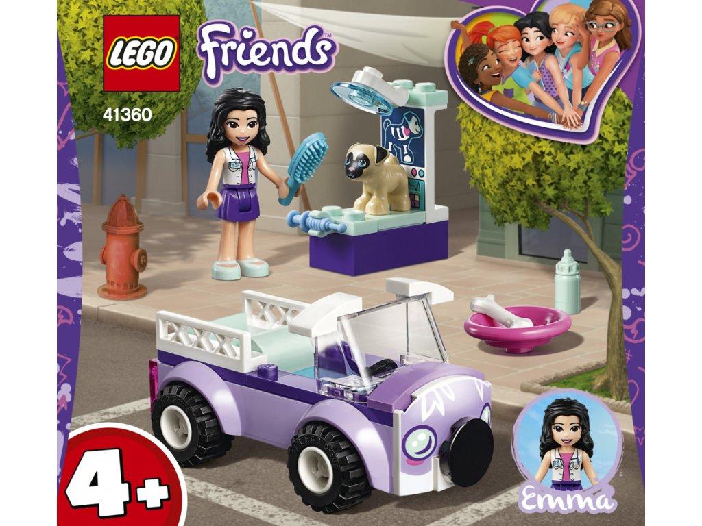 LEGO 41360  Friends Emma a mobilní veterinární klinika