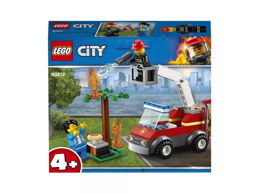 Lego 60212 City Grilování a požár