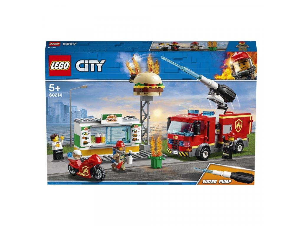 Lego 60214 City Záchrana burgrárny