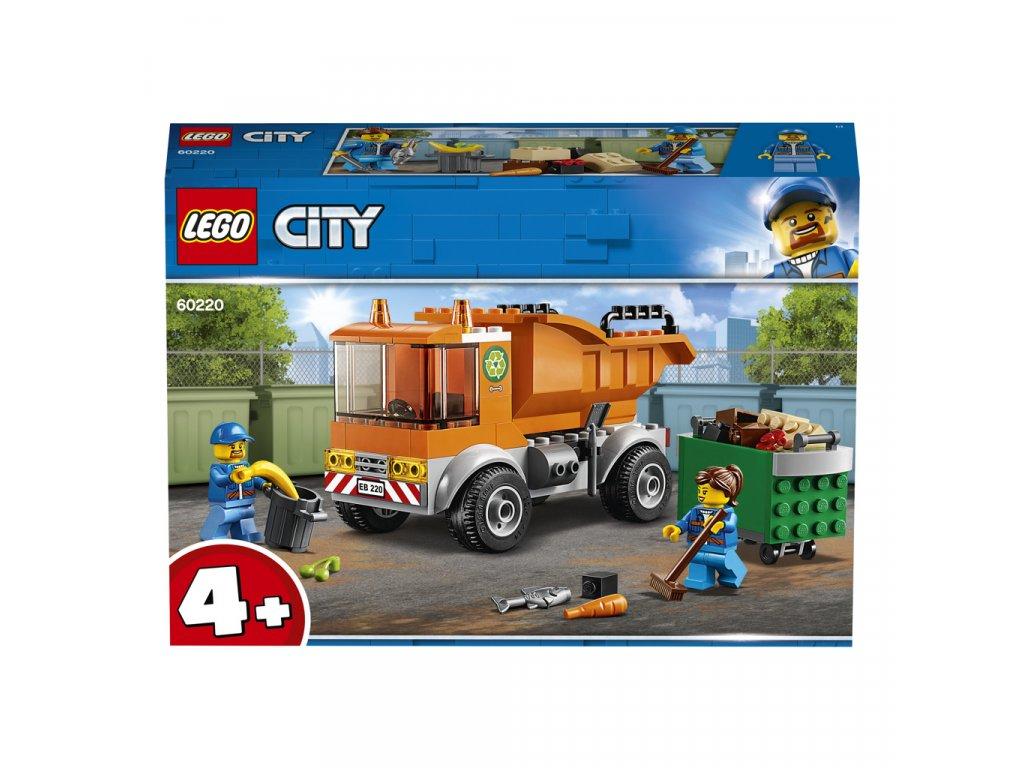 Lego 60220 City Popelářské auto
