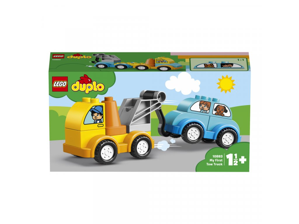 LEGO 10883 Duplo Můj první odtahový vůz