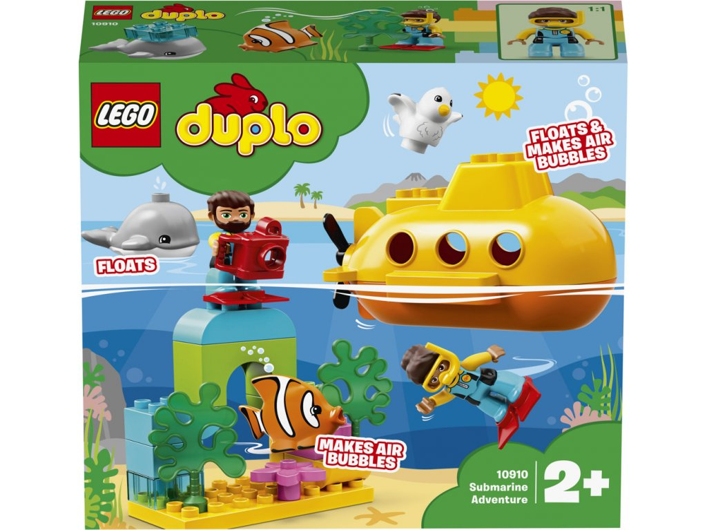 LEGO 10910 Duplo Dobrodružství v ponorce