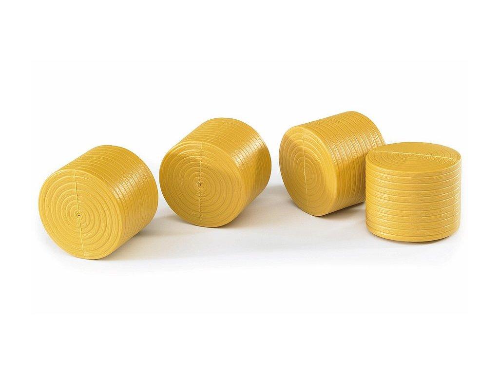BRUDER 2344 Balík kulatý žlutý pro č. 2121 - 4 Ks
