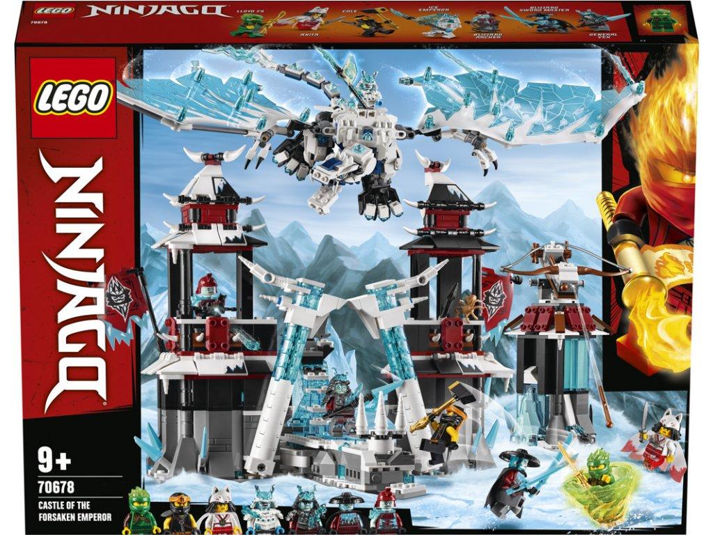LEGO 70678 Ninjago Hrad zapomenutého císaře