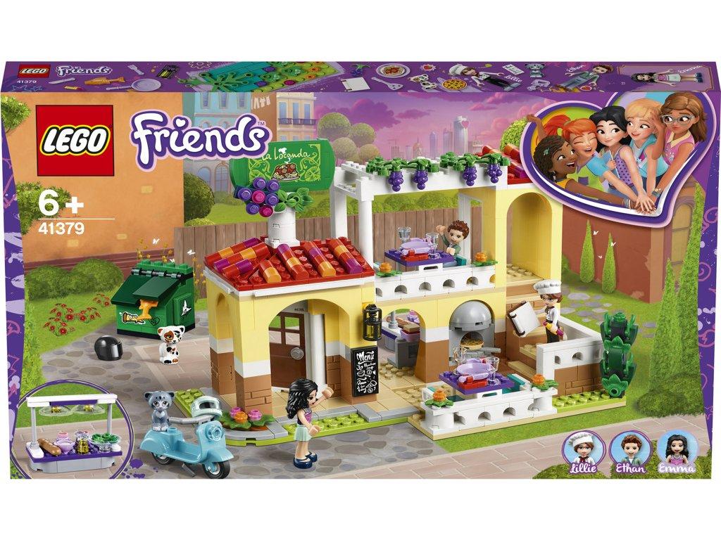 LEGO 41379 Friends Restaurace v městečku Heartlake