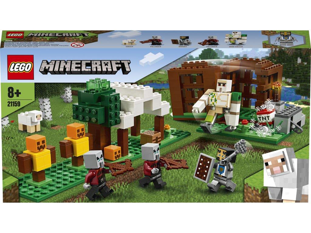 LEGO 21159 Minecraft Základna Pillagerů