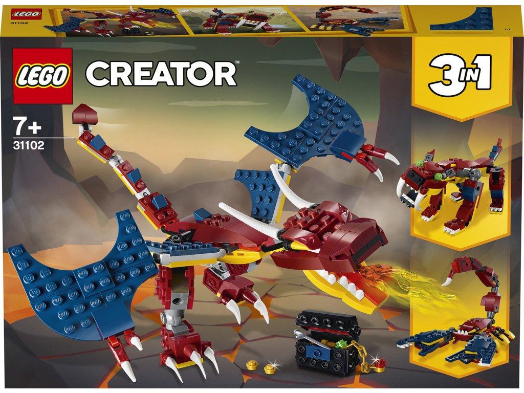 LEGO 31102 Creators Ohnivý drak