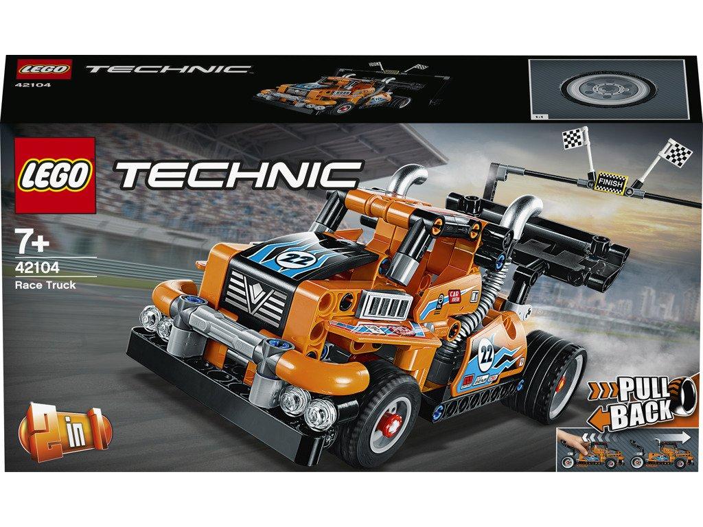 LEGO 42104 Technic Závodní tahač